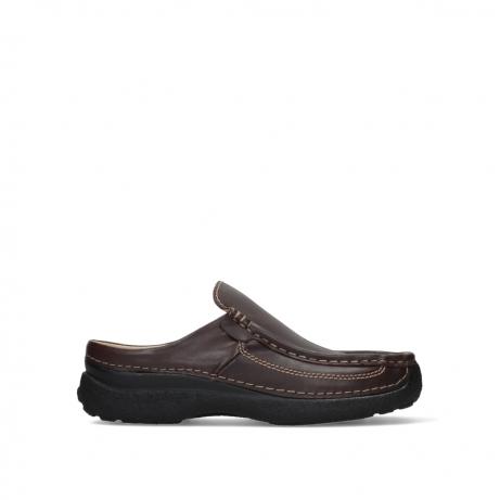 wolky slippers 09210 roll slide men 50300 bruin leer