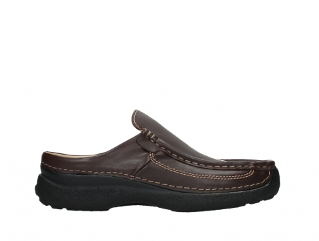 wolky slippers 09210 roll slide men 50300 bruin leer_1
