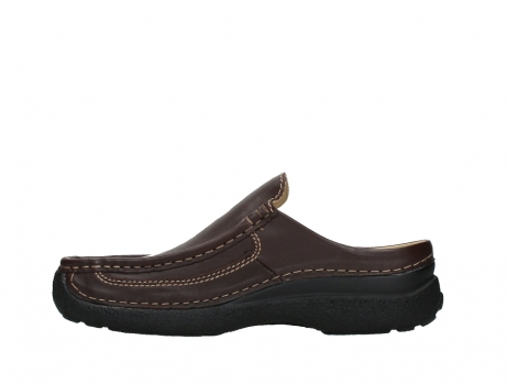 wolky heren slippers 09210 roll slide men 50300 brown leather_13