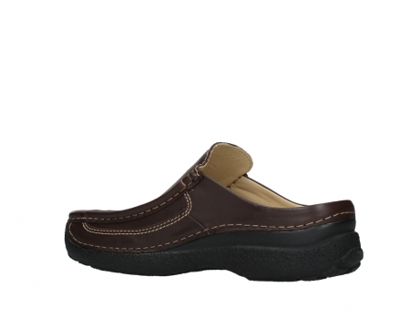 wolky heren slippers 09210 roll slide men 50300 brown leather_15