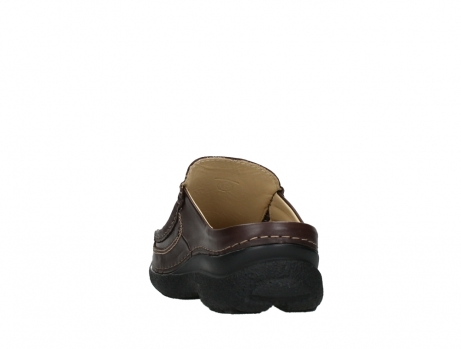 wolky heren slippers 09210 roll slide men 50300 brown leather_18