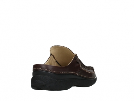 wolky heren slippers 09210 roll slide men 50300 brown leather_21