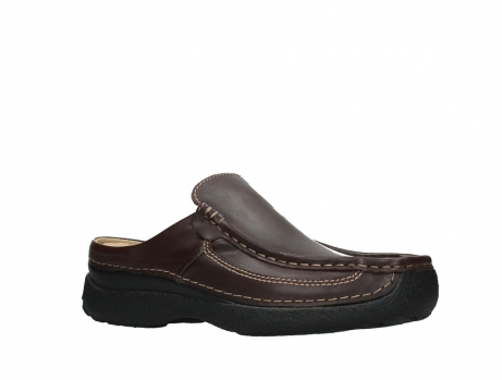 wolky slippers 09210 roll slide men 50300 bruin leer_3