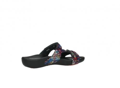 wolky slippers 1000 oconnor 497 multi zwart craquele leer_11