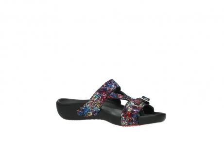 wolky slippers 1000 oconnor 497 multi zwart craquele leer_15