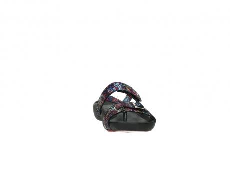 wolky slippers 1000 oconnor 497 multi zwart craquele leer_18
