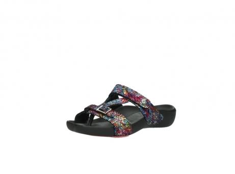 wolky slippers 1000 oconnor 497 multi zwart craquele leer_22