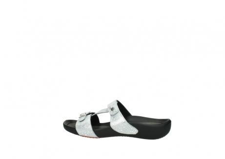 wolky slippers 1000 oconnor 612 gebroken wit slangenprint leer_2