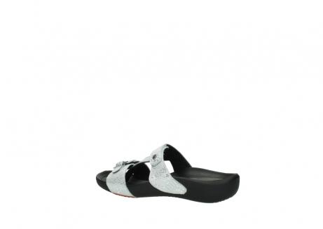wolky slippers 1000 oconnor 612 gebroken wit slangenprint leer_3