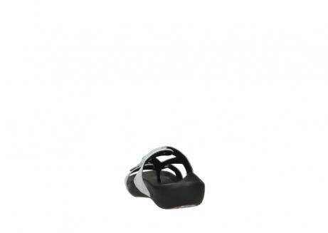 wolky slippers 1000 oconnor 612 gebroken wit slangenprint leer_6