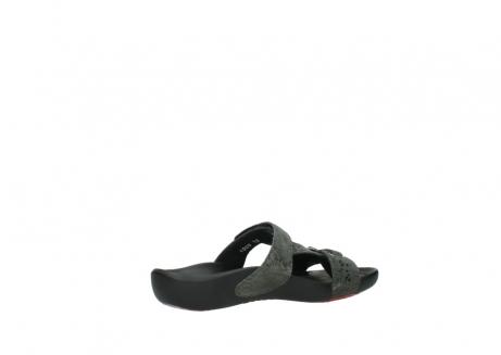 wolky slippers 1000 oconnor 621 antraciet slangenprint leer_11