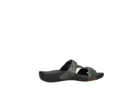 wolky slippers 1000 oconnor 621 antraciet slangenprint leer_12