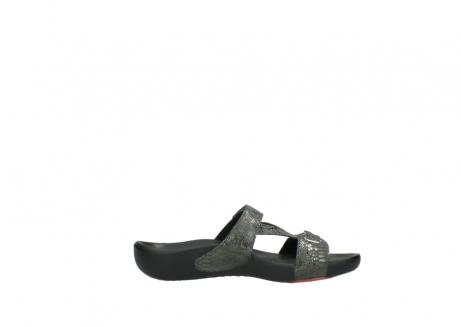 wolky slippers 1000 oconnor 621 antraciet slangenprint leer_13