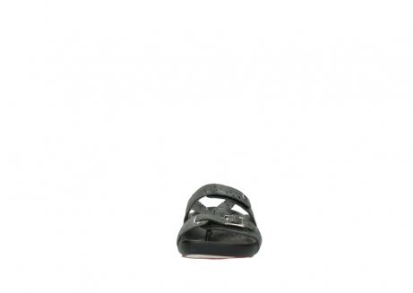 wolky slippers 1000 oconnor 621 antraciet slangenprint leer_19