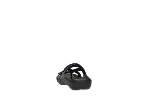 wolky slippers 1000 oconnor 621 antraciet slangenprint leer_6