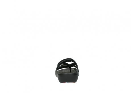 wolky slippers 1000 oconnor 621 antraciet slangenprint leer_7