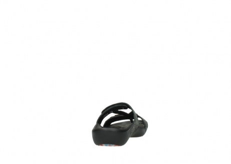 wolky slippers 1000 oconnor 621 antraciet slangenprint leer_8