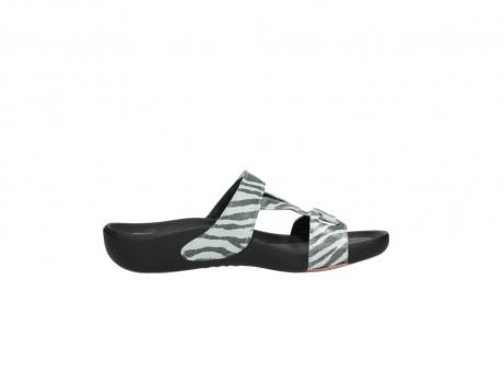 wolky slippers 1000 oconnor 912 zebraprint metallic leer_13