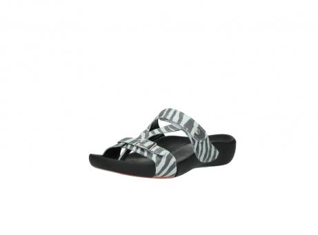 wolky slippers 1000 oconnor 912 zebraprint metallic leer_22