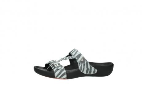 wolky slippers 1000 oconnor 912 zebraprint metallic leer_24
