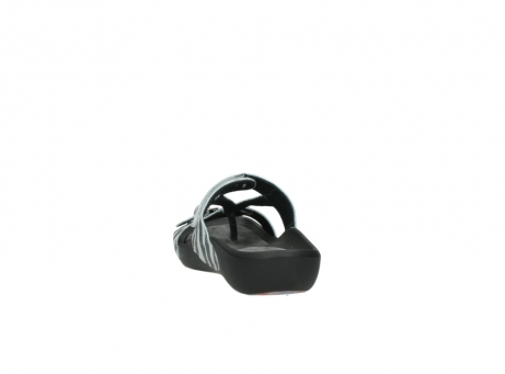 wolky slippers 1000 oconnor 912 zebraprint metallic leer_6