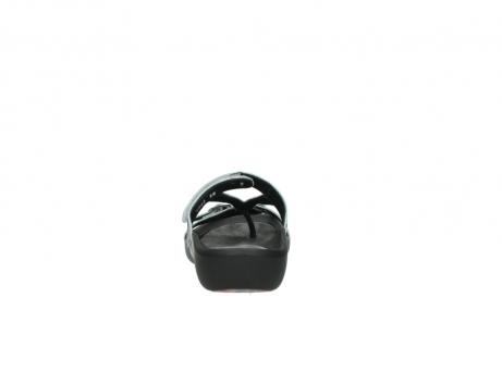 wolky slippers 1000 oconnor 912 zebraprint metallic leer_7