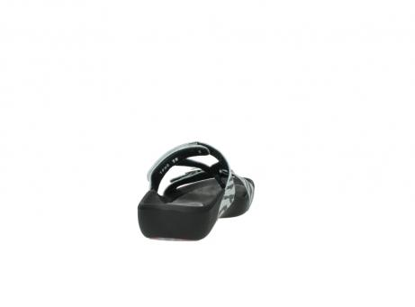 wolky slippers 1000 oconnor 912 zebraprint metallic leer_8