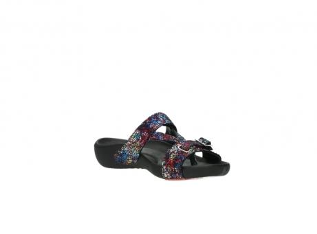 wolky slippers 1010 kukana 497 multi zwart craquele leer_16