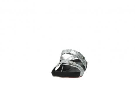 wolky slippers 1010 kukana 612 gebroken wit slangenprint leer_20