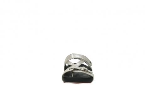 wolky slippers 1010 kukana 662 bisque goud slangenprint leer_19