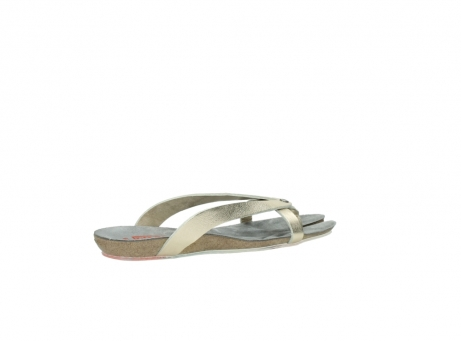 wolky slippers 1025 sunshine 314 goud leer_11