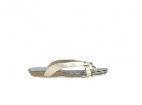 wolky slippers 1025 sunshine 314 goud leer_13