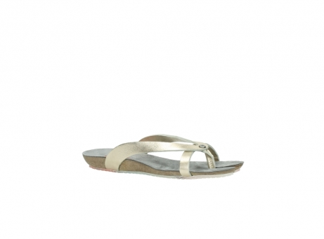 wolky slippers 1025 sunshine 314 goud leer_15