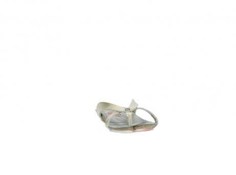 wolky slippers 1025 sunshine 314 goud leer_18