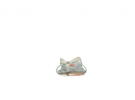 wolky slippers 1025 sunshine 314 goud leer_19