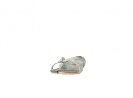 wolky slippers 1025 sunshine 314 goud leer_20