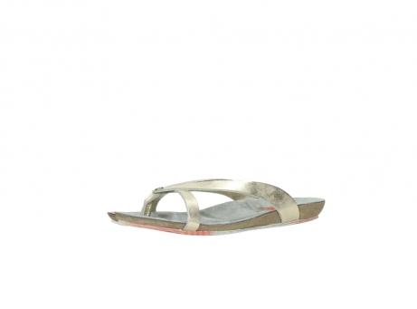 wolky slippers 1025 sunshine 314 goud leer_23