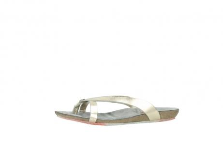 wolky slippers 1025 sunshine 314 goud leer_24