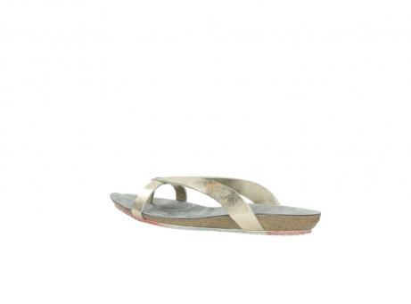 wolky slippers 1025 sunshine 314 goud leer_3