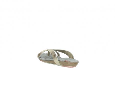 wolky slippers 1025 sunshine 314 goud leer_5