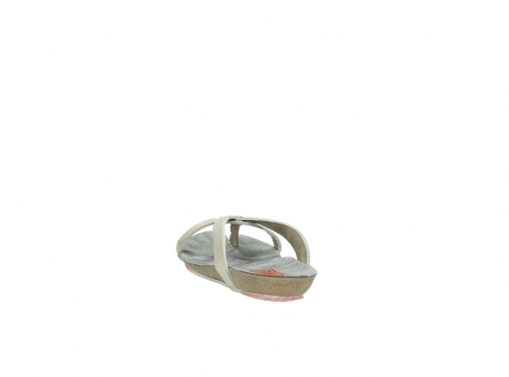 wolky slippers 1025 sunshine 314 goud leer_6