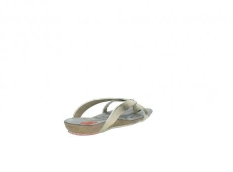 wolky slippers 1025 sunshine 314 goud leer_9