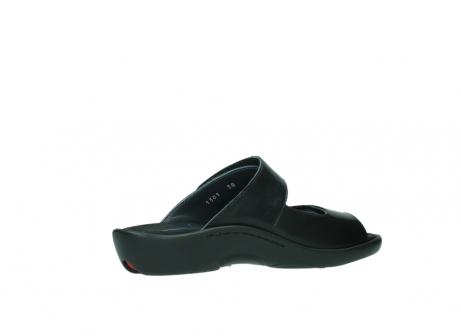 wolky slippers 1301 nepeta 300 zwart leer_11