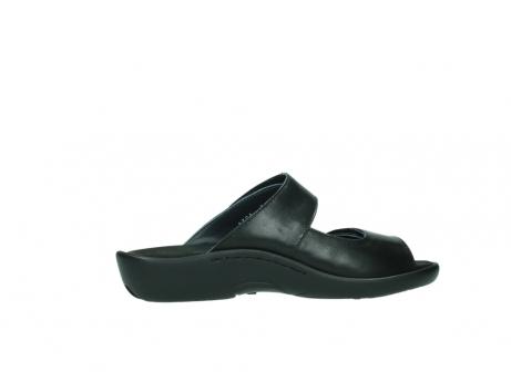 wolky slippers 1301 nepeta 300 zwart leer_12