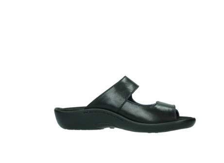 wolky slippers 1301 nepeta 300 zwart leer_14