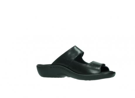 wolky slippers 1301 nepeta 300 zwart leer_15