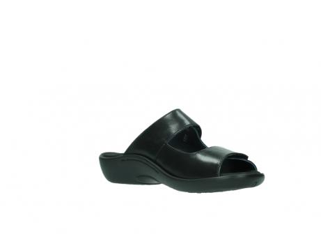 wolky slippers 1301 nepeta 300 zwart leer_16