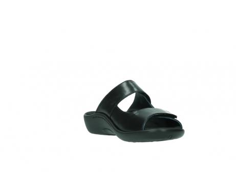 wolky slippers 1301 nepeta 300 zwart leer_17
