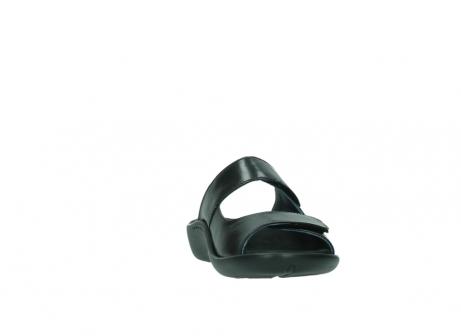wolky slippers 1301 nepeta 300 zwart leer_18