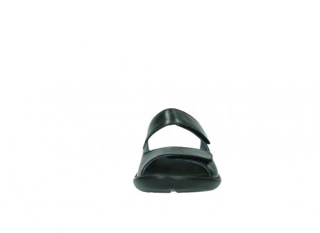 wolky slippers 1301 nepeta 300 zwart leer_19